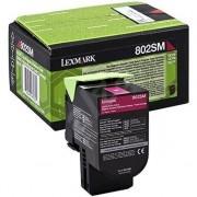 Lexmark 80C2SM0 - 802SM toner magenta