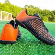Comfortabele demping anti-slip jeugdopleiding voetbalschoenen (kleur: zwart maat: 35)