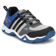 Shoe Rider Men's Blue Mesh Sports Running Shoes
