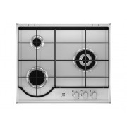 Electrolux Placa de Gas ELECTROLUX EGH6233BOX (Gas Natural - 59.5 cm - Inox)