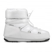 MOON BOOT Doposci Moon Boot Low nylon Wp donna (Colore: bianco, Taglia: 38)