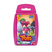 Winning Moves Top Trumps | Trolls DreamWorks Card Game with Free Sticker Sheet
