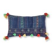 Kave Home Capa de almofada Harbin , en Tecido - Azul