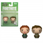 Pint Size Heroes Pack de 2 Figuras Funko Pint Sized Heroes - Pathfinder y Highrise - Fortnite