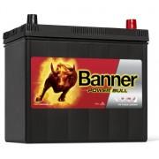 Banner Power Bull P4523 jobb pozitív 45Ah / 330A akkumulátor