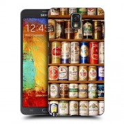 Husa Samsung Galaxy Note 3 N9000 N9005 Silicon Gel Tpu Model Beer Cans