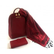 Rucsac Piele Coco Mademoiselle Rouge