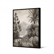 Pôdevache Jinja - Toile imprimée jungle 92,5x65cm