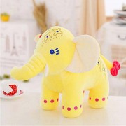 New imported Plush Toys 30cm Elephant Doll Long Nose Elephants(Yellow)