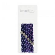 Knotties Braided Elastics Blackberry Jam 6-p