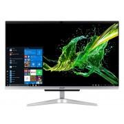 "Acer Aspire C24-963 60,5 cm (23.8"") 1920 x 1080 Pixel Intel® Core™ i5 di decima generazione 8 GB DDR4-SDRAM 512 GB SSD Wi-Fi 5 (802.11ac) Nero, Argento PC All-in-one Windows 10 Home"