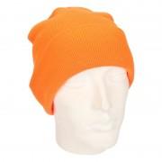 Beechfield Basic winter muts fluor oranje
