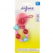 Difrax® Attache sucette à coeur fille 1 pc(s) 8711736018345