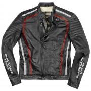 Black-Cafe London Seoul Motorcycle Leather Jacket - Size: 54