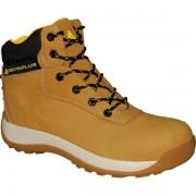 Scarpe alte da lavoro Delta Plus Saga - 160624 Scarpe alte da lavoro in pelle nubuck misura 43 di colore beige in confezione da 1 Pz.