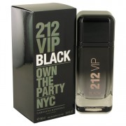 212 Vip Black Eau De Parfum Spray By Carolina Herrera 3.4 oz Eau De Parfum Spray