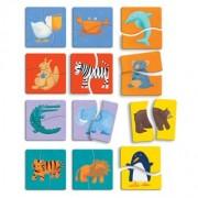 Djeco / Color Animals Wooden Beginner Puzzle Set