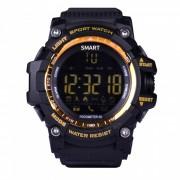 EX16 Sport Smart Wristband Watch para dispositivos Android / IOS-dorado