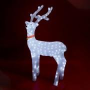 Akril rénszarvas, kültéri, 240 WH LED, 100 cm