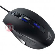 Mouse gaming ASUS GX850, USB, 5000 DPI, Negru