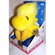 """Peanuts Snoopy 7"""" Plush Woodstock Doll Collectors Edition 1 of 5,000"""