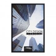 Axolia Cadre City Design 20x30cm Aluminium Noir