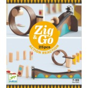 Zig and and Go Djeco set de constructie trasee 25 piese
