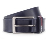 Tommy Hilfiger Men Casual Blue Genuine Leather Belt