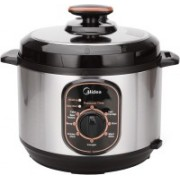 Midea MEPCH1205AF Electric Rice Cooker with Steaming Feature(5 L, Black, Stainless Steel)