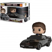 Funko Pop Rides Michael Knight With Kitt El Auto Increíble