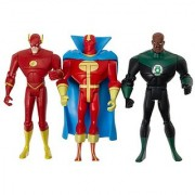 Justice League Unlimited The Flash Green Lantern Red Tornado-H2107