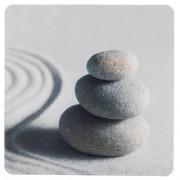WENKO Duscheinlage Sand and Stone, 54 x 54 cm, 23153100