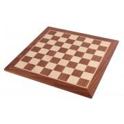 Tablă de șah din mahon, fără adnotare Staunton 5