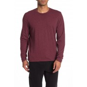JASON SCOTT Reversible Long Sleeve T-Shirt BURGUNDY
