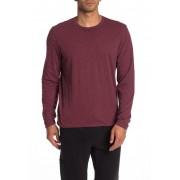 JASON SCOTT Reversible Long Sleeve T-Shirt BURGUNDY
