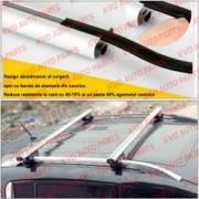 Set bare aluminiu portbagaj cu cheie RENAULT Clio III 2005-2014 Combi Breck Caravan