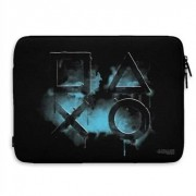 Playstation Smoked Icons Laptop Sleeve, Laptop Sleeve