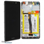 Display Schermo LCD Originale Huawei Honor 6X Nero BLN-L21 Batteria Flat Touch 02351BNB
