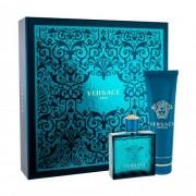 Versace Eros set cadou apa de toaleta 100 ml + gel de dus 150 ml pentru bărbați
