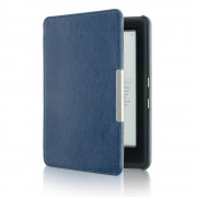 Shop4 - Kobo Glo HD Hoes - Book Cover Cabello Donker Blauw