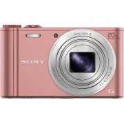 Sony Cyber-Shot DSC-WX350P Digitale camera 18.2 Mpix Roze Full-HD video-opname, WiFi