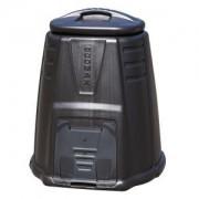 Compostvat 220 liter zwart