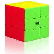 3x3x3 Iluminar SQ-1 Cubo Mágico QiYi Mofangge - Vistoso
