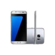 Smartphone Samsung Galaxy S7 Edge Android 6.0 Tela 5.5 32GB 4G Câmera 12MP - Prata