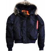 Alpha Industries N2B VF 59 Jacket Blue L