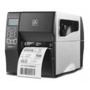 Zebra ZT230, Impresora de Etiquetas, Transferencia Térmica, 203 x 203DPI, Serial, Ethernet, USB, Negro/Plata