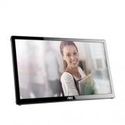 Monitor AOC E1759FWU, 17'', LED, 1600x900, USBch, piv