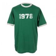 geschenkidee.ch Jahrgangs-Shirt für Erwachsene Grün/Weiss, Grösse M