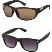 Flynn Sports Sunglasses(Brown, Black)