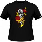 Microfon de rock star - negru - SolS Regent - L